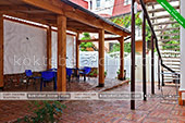 Двор - Гостевой дом Casa de Lara (Дом Лара) в Коктебеле - Феодосия