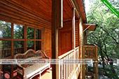 Общий балкончик в 1м корпусе - База отдыха Троянда - Коктебель, Феодосия