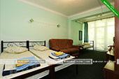 Четырехместный номер во 2м корпусе - База отдыха Троянда - Коктебель, Феодосия