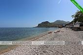 Пляж - База отдыха Троянда - Коктебель, Феодосия