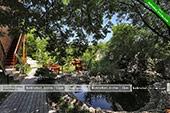 пруд и столики - База отдыха Троянда - Коктебель, Феодосия