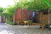 Двор - Частный сектор на ул. Победы 13 в Коктебеле, Феодосия