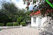 Двор - частный дом Киммерия в Коктебеле, Феодосия