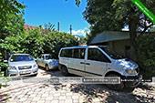 Парковка - гостевой дом на ул. Ленина 110Т в Коктебеле, Феодосия