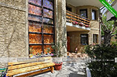 Во дворе - гостиница в Литфонде - Коктебель Феодосия