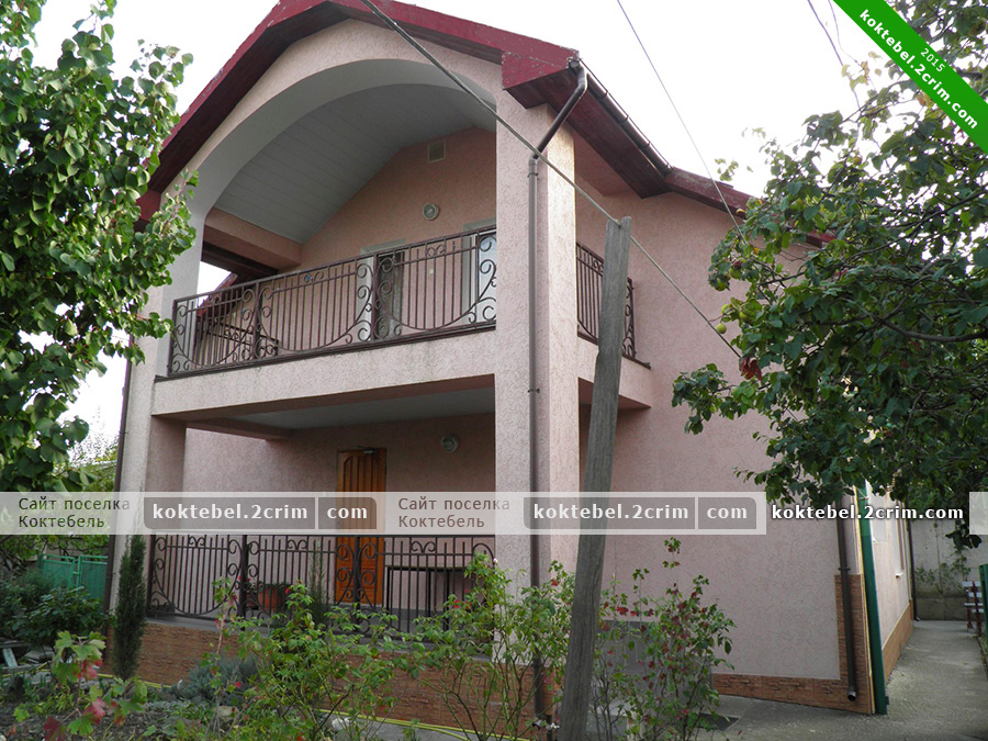 Главное фото - Частный дом на Ленина 120Б в Коктебеле