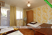 Трехместная комната - госетвой дом на Королева 9