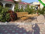 Столик - гостевой дом Аквамарин в Коктебеле - Феодосия