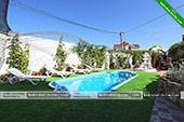 Бассейн - гостевой дом Аквамарин в Коктебеле - Феодосия
