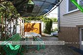 Столик во дворе - частный сектор Мичурина 4 в Коктебеле - Феодосия
