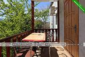 Балкон - Трехместный номер на Мичурина 7 - Коктебель