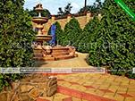 Двор - гостевой дом Фаворит в Коктебеле - Феодосия