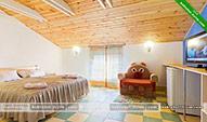 Двухместный номер Мансарда - гостиница Шанхай в Коктебеле - Феодосия