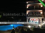 Ночной вид - гостиница вилла Классик в Коктебеле - Феодосия