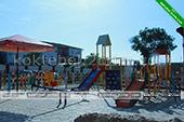 Детская площадка - гостиница вилла Классик в Коктебеле - Феодосия