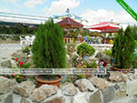Двор - гостиница вилла Классик в Коктебеле - Феодосия