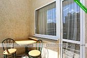 Двухместный номер - Гостевой дом Зеленый рай в Коктебеле - Феодосия