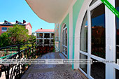 Балкон на этаже - Гостевой дом Гайбуло в Коктебеле - Феодосия