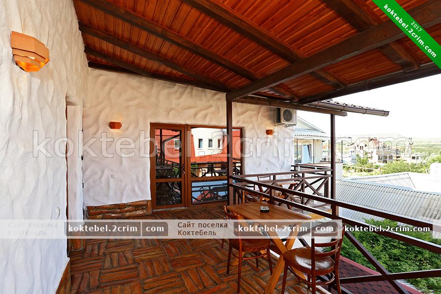 """Главное фото - Гостевой дом """" Casa De Lara 2"""" в Коктебеле"""
