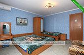 Трехместный номер с кухней - гостевой дом У Моревых в Коктебеле - Крым.