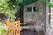 Столик - Частный дом У Людмилы на Победы 1 в Коктебеле - Крым