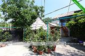 Двор - Частный сектор на Шершнева 3 в Коктебеле - Крым