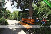 Скамейка - Частный сектор на Шершнева 3 в Коктебеле - Крым
