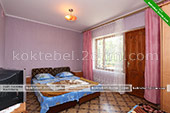 Комната 2-й этаж - Частный сектор на Базарном 3 в Коктебеле - Крым