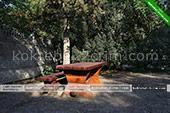 Столик - Гостевой дом Надежда в Коктебеле - Феодосия Крым