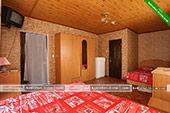 Номер на 4-х с удобствами - мини-гостиница на ул. Десантников 7 в Коктебеле.
