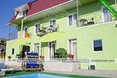 Второй корпус -  отель Коктевилль в Коктебеле - Крым.
