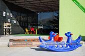 Детский уголок -  отель Коктевилль в Коктебеле - Крым.