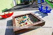 Детская песочница -  отель Коктевилль в Коктебеле - Крым.