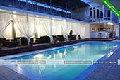 Второй бассейн -  отель Коктевилль в Коктебеле - Крым.