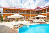 Гостиница Коктевилль в Коктебеле, Крым.