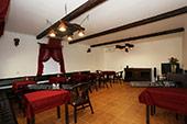 Кафе - Гостиница Feliz Verano в Коктебеле.