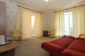 Комната 2 - Дувхкомнатный номер - Отель Шоколад в Коктебеле.