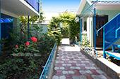 Гостевой дом Изумруд в Коктебеле, Крым, Феодосия