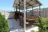 Двор - Гостевой дом Македония в Коктебеле, Крым, Феодосия