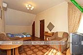 Двухярусный номер - Апарт отель Сильвия в Коктебеле, Феодосия