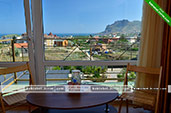 Трехместный панорамный номер - Пансионат Эдельвейс в Коктебеле, Феодосия